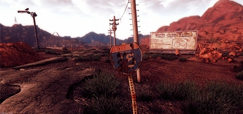 fallout, fallout nv, fnv, gaming, gifs, Prepare for Fallout GIFs
