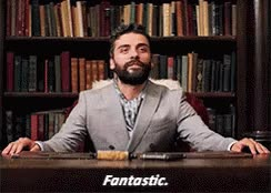 Watch and share Oscar Isaac Fantastic GIFs on Gfycat
