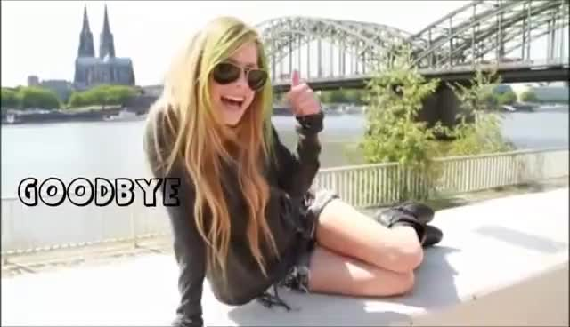 #Avril #Goodbye, Goodbye! GIFs