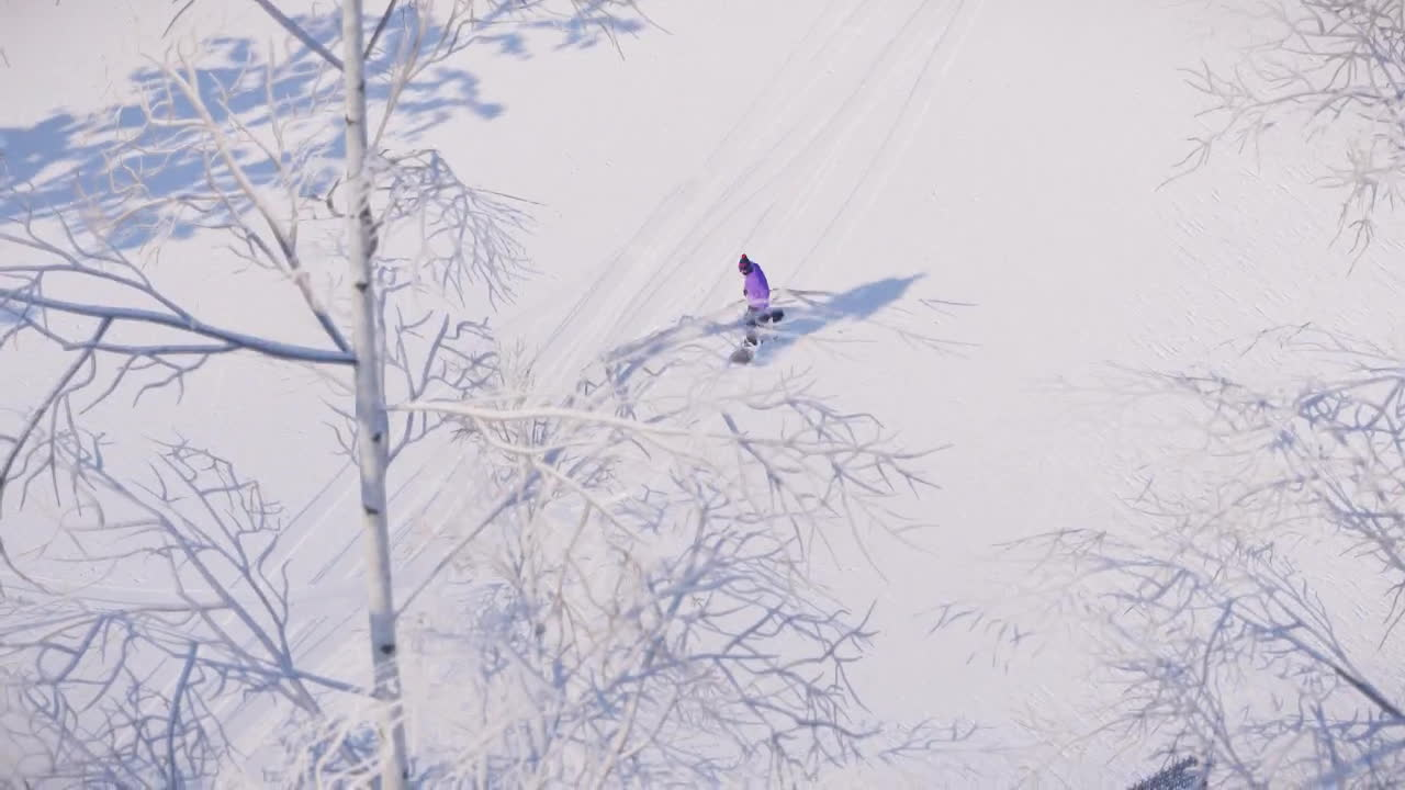 snow, snowboarding, snowthegame, A little rail dance. Spin to win. GIFs