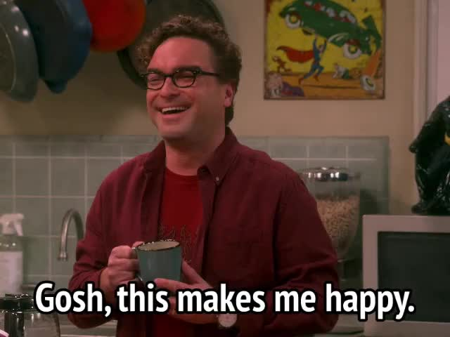 Watch and share The Big Bang Theory GIFs and Johnny Galecki GIFs by MikeyMo on Gfycat
