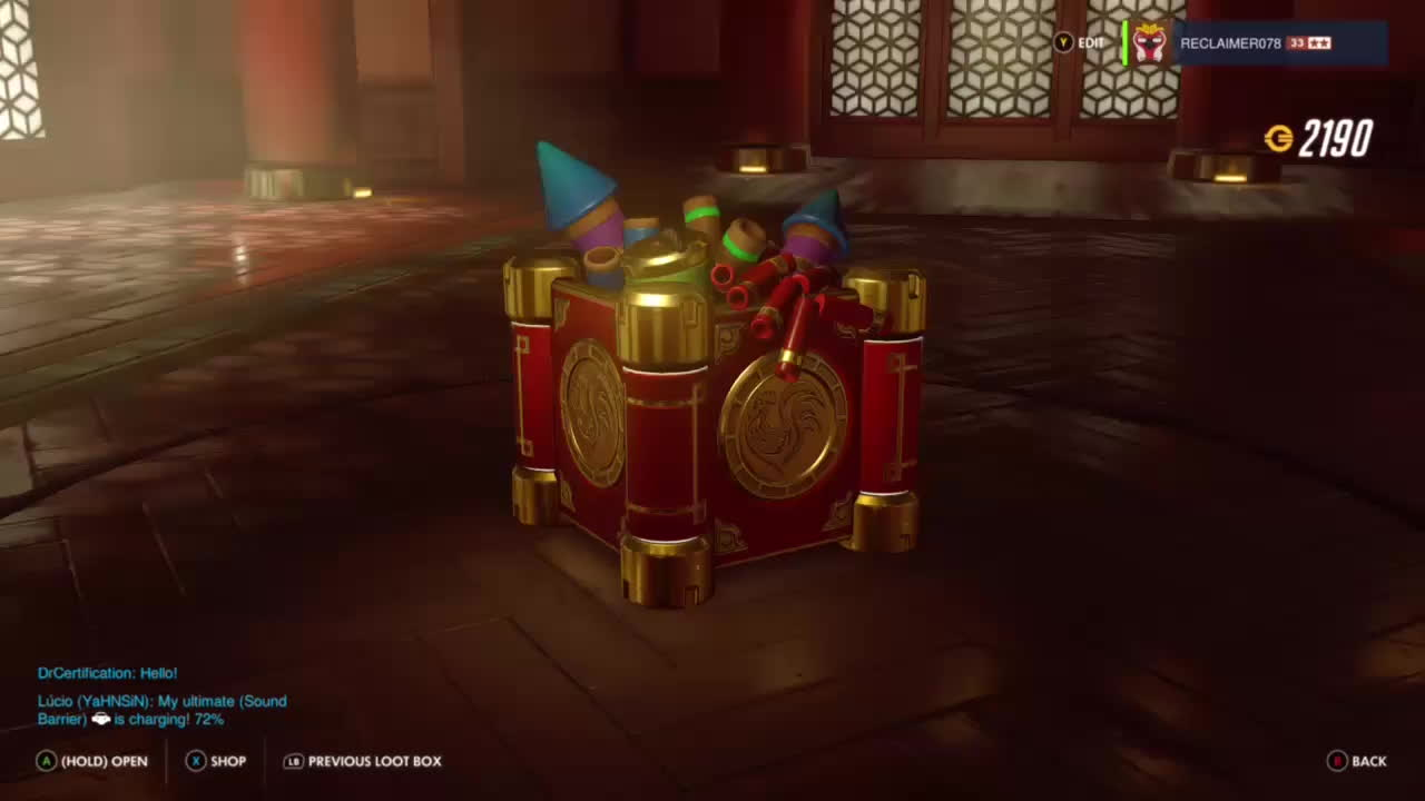 OWConsole, overwatch, owconsole, Getting year round legendary skins in event boxes GIFs