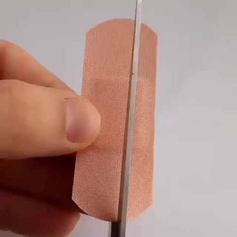 Watch and share Lifehack GIFs and Bandaid GIFs by f3e6g4h4 on Gfycat