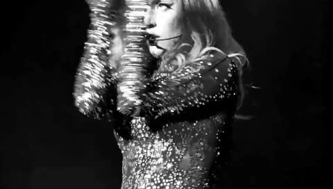 Watch and share Black And White GIFs and Lady Gaga GIFs on Gfycat