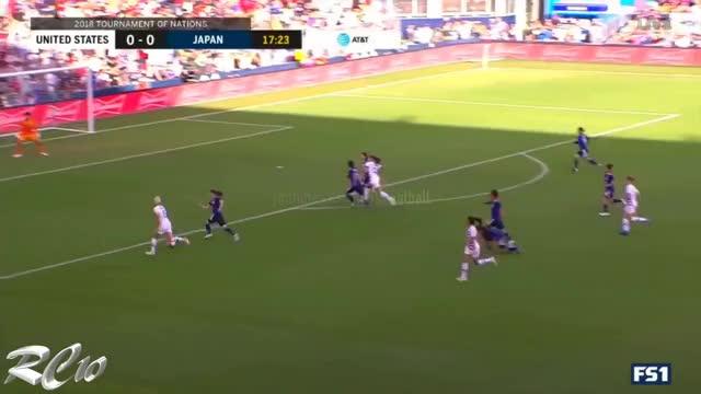 e0f8e2ced9a Watch Alex Morgan Hat Trick vs Japan