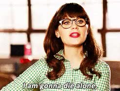 Watch die alone GIF on Gfycat. Discover more zooey deschanel GIFs on Gfycat