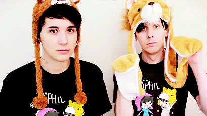amazingphil, daniel howell, danisnotonfire, Dan and Phil gif GIFs