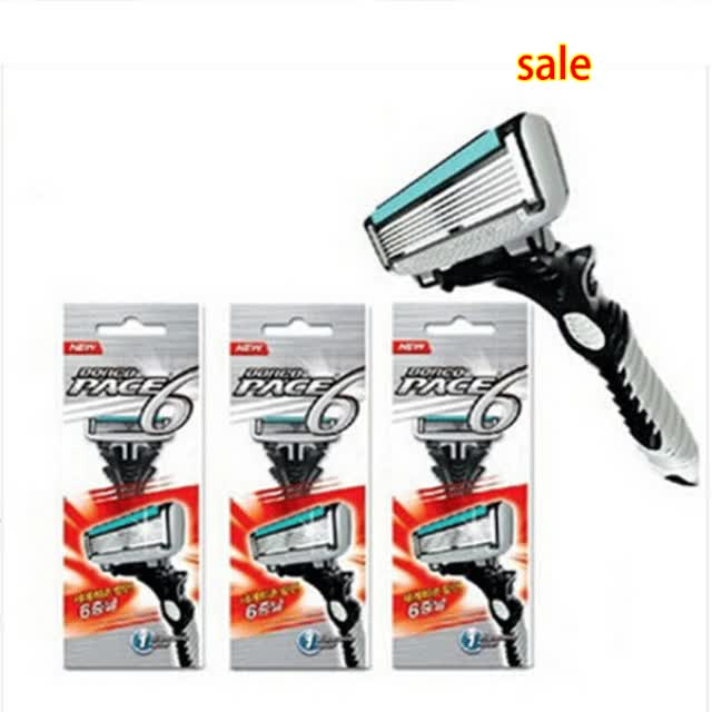 Watch and share Razor Blades For Men Brand Double Edge Shaver Safety Razors Mens Shaving Personal Stainless Steel Razor Blades GIFs on Gfycat