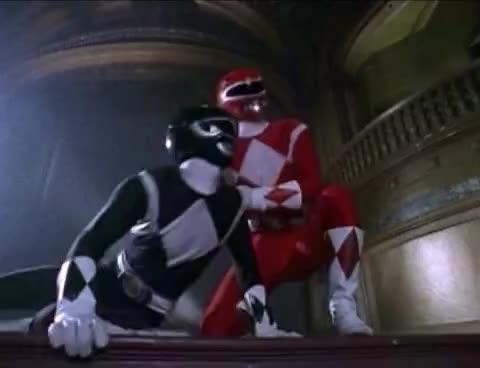 power rangers, Power Rangers vs Past Monsters (Mighty Morphin Power Rangers) GIFs