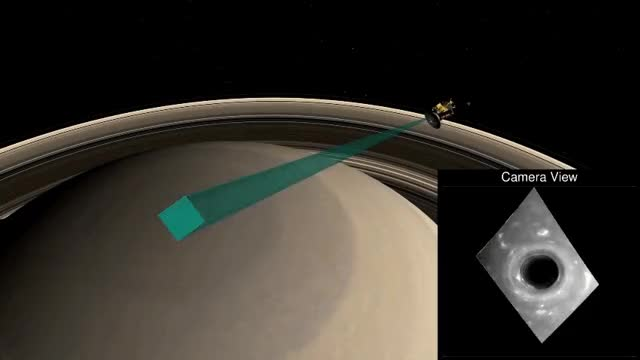 Watch cassini-saturn-first-dive-nasa-jpl-ssi GIF by Dave Mosher (@davemosher) on Gfycat. Discover more cassini, nasa, saturn GIFs on Gfycat