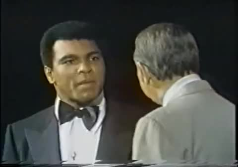 Watch Ali vs Cosell toupee' GIF on Gfycat. Discover more Howard Cosell, Muhammad Ali GIFs on Gfycat
