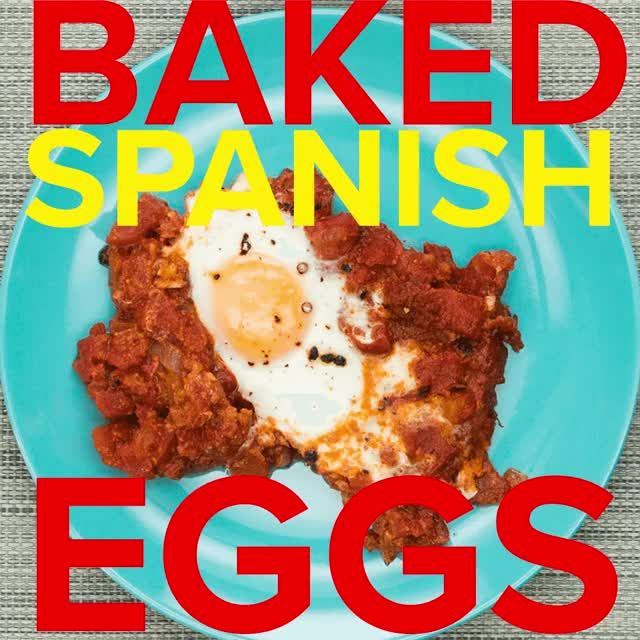 Watch and share Spanish Style Baked Eggs GIFs by chewysowner on Gfycat