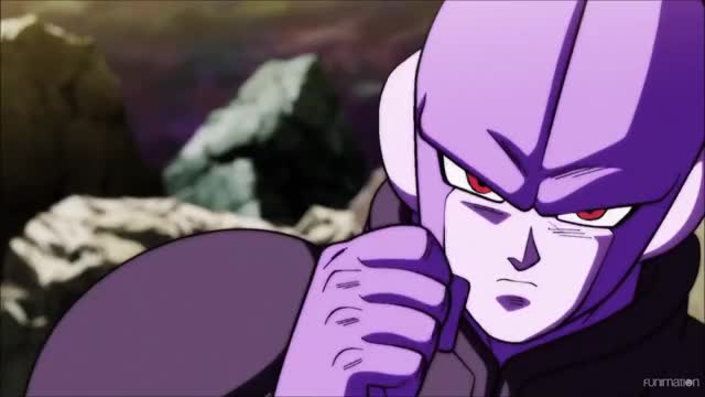 Dyspo Lands A Clean Hit On Hit Dragon Ball Super Ep 104 Gif By
