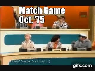 barbara mcnair, charles nelson rilley, match game 1975, Barbara Mcnair GIFs