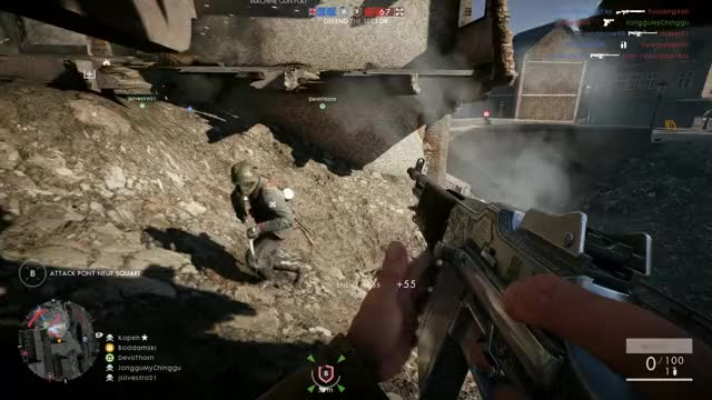 Watch Trench Mace panic mode GIF on Gfycat. Discover more battlefield_one GIFs on Gfycat
