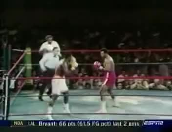Watch George Foreman vs Joe Frazier I GIF on Gfycat. Discover more boxing GIFs on Gfycat