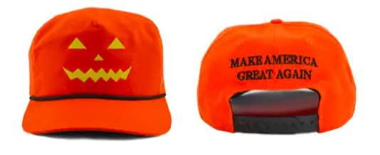Watch and share Halloween-maga-hats GIFs on Gfycat