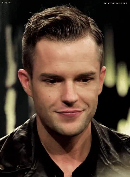 Watch and share Brandon Flowers GIFs on Gfycat