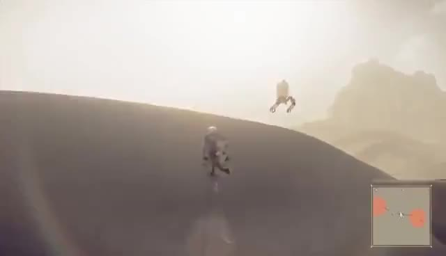Watch NieR Automata Gameplay: Let's Play NieR Automata - MOOSE-POCALYPSE GIF on Gfycat. Discover more related GIFs on Gfycat