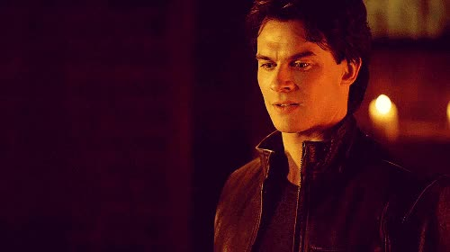 Watch and share Damon Salvatore GIFs on Gfycat