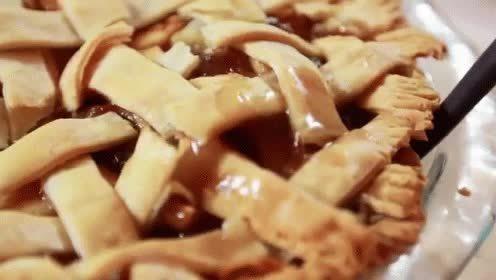 foodporn, nationalpieday, My favorite dessert. Apple pie! GIFs
