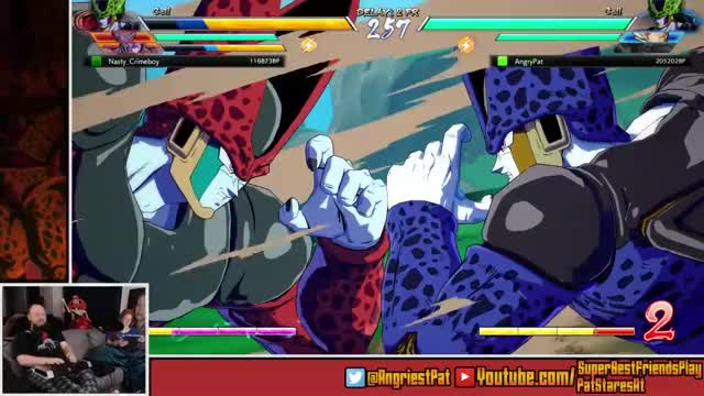 AngriestPat Playing Dragon Ball FighterZ - Twitch Clips