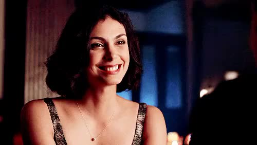 Watch and share Morena Baccarin GIFs and Smiling GIFs on Gfycat