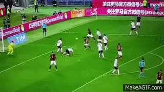 Watch and share Edin Dzeko Epic Funny Miss Vs Palermo - Roma Vs Palermo Serie A 2016 GIFs on Gfycat