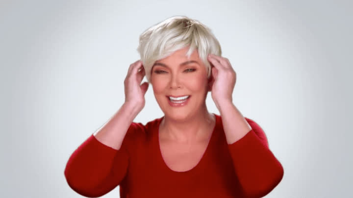 funny, haha, hilarious, keeping up with the kardashians, kris jenner, kuwtk, laughing, lol, wig, Kris Jenner LOL GIFs