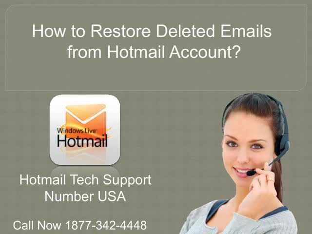 Watch and share How To Restore Deleted Emails From Hotmail Account? | Hotmail Tech Support Number USA 1877-269-4999 GIFs by Steve smith on Gfycat