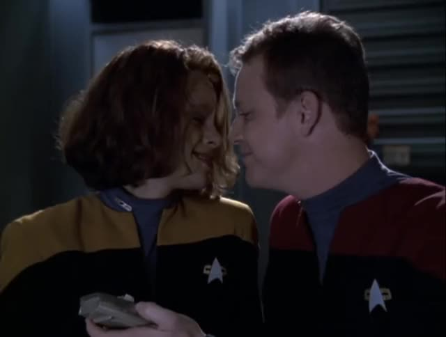 Watch CARTOON! GIF by Star Trek gifs (@star-trek-gifs) on Gfycat. Discover more B'Elanna Torres, Robert Duncan McNeill, Roxann Dawson, Star Trek, Star Trek Voyager, Tom Paris, VOY, Voyager GIFs on Gfycat