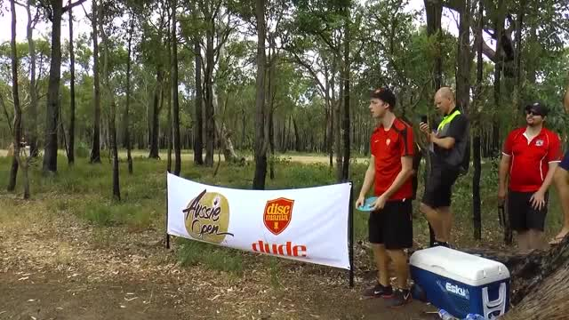 Watch and share 2015 Aussie Open - Simon Big Anhyzer Drive - Round 3, Hole 12 (SpinTV) GIFs by Ultiworld Disc Golf on Gfycat