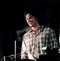 Watch and share Sam Spn Gif Imagine GIFs and Sam Winchester GIFs on Gfycat