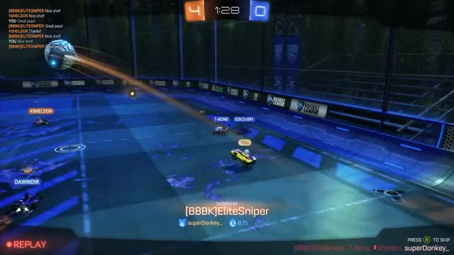 Watch and share Rocket League GIFs and Goal GIFs by superdonkey_ on Gfycat