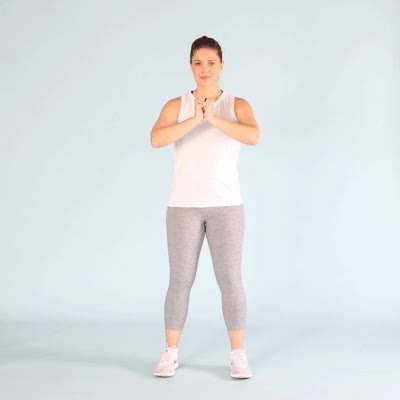 Watch and share Squat Jumps GIFs by Healthline on Gfycat