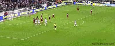 Watch and share Bonucci Vs AS Roma GIFs on Gfycat
