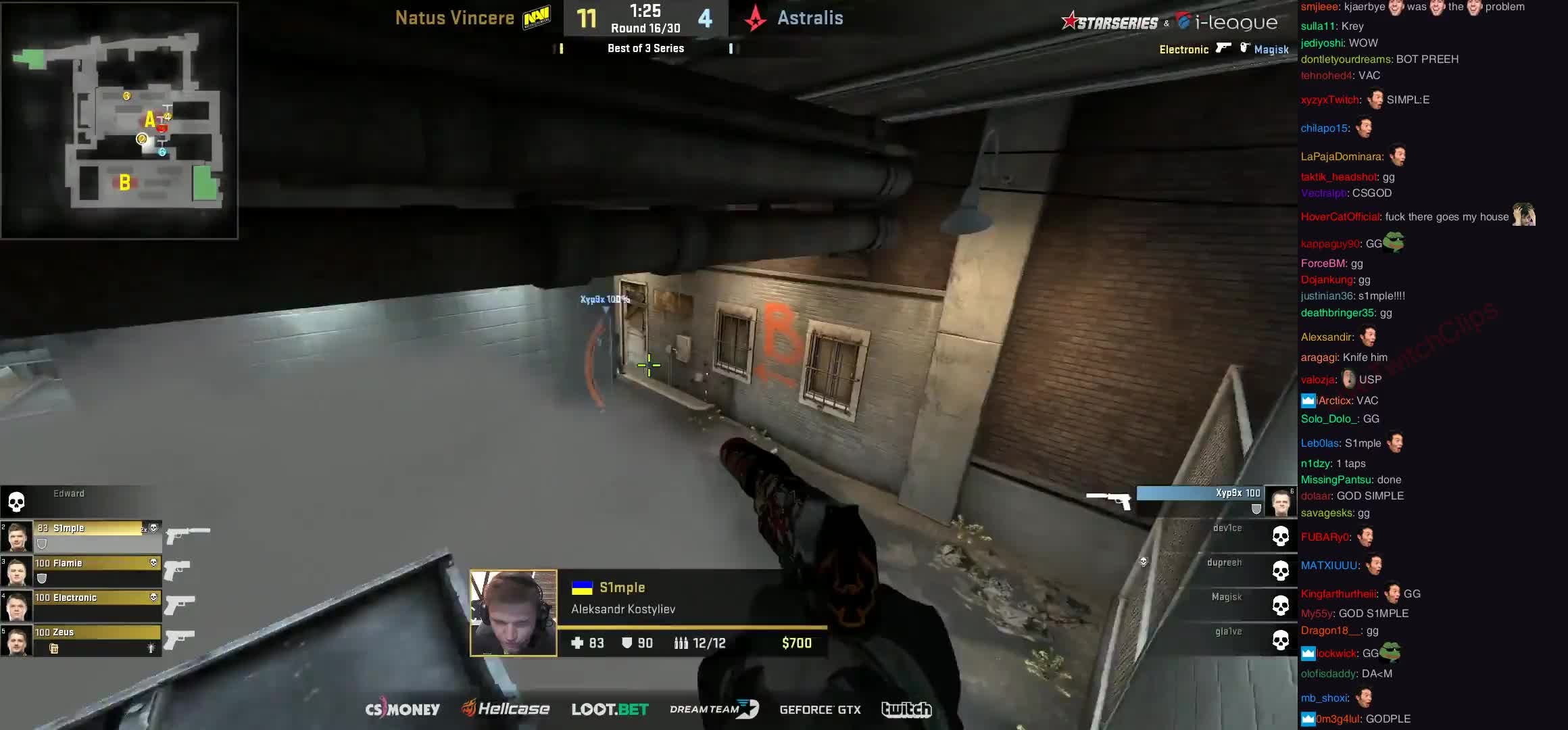 https://www.reddit.com/r/GlobalOffensive/comments/7zrhz2/s1mple_is_happy/ GIFs