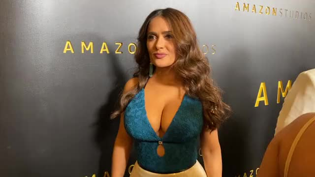 Watch and share Golden Globes GIFs and Salma Hayek GIFs on Gfycat