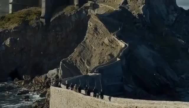 Watch and share Daenerys Arrives At Dragonstone GIFs on Gfycat