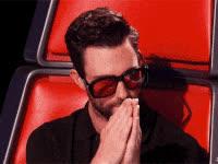 adam levine, celebrities, celebrity, celebs, clap, sunglasses, adam levine, the voice, golf clap GIFs