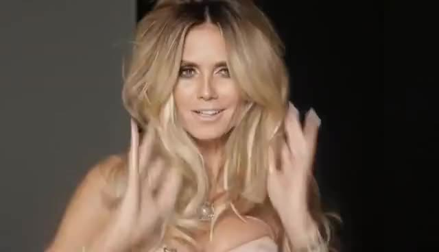 heidi, heidi klum, model, supermodel, BUCCELLATI Heidi Klum for Ocean Drive mp4 GIFs