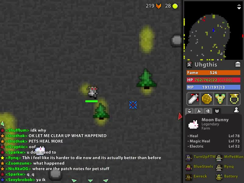 Bugged AF, Moloch, RotMG, Uhgthis, Broken Pets GIFs