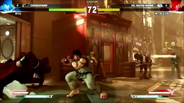 Watch and share Ryu SFV Stun Combo GIFs by aceninja on Gfycat