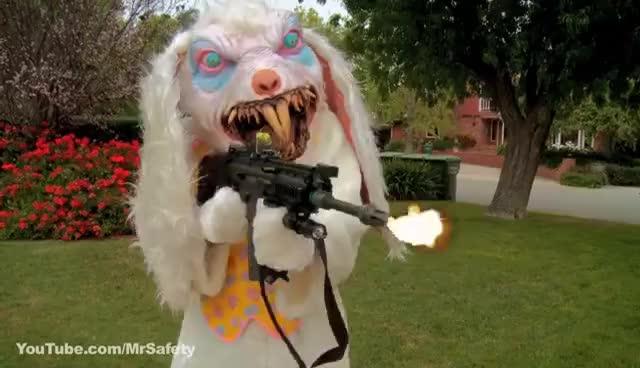 Bipolar Easter Bunny GIFs