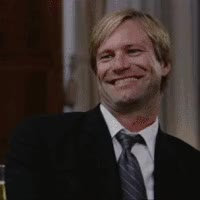 Watch and share Aaron Eckhart Smile GIFs on Gfycat