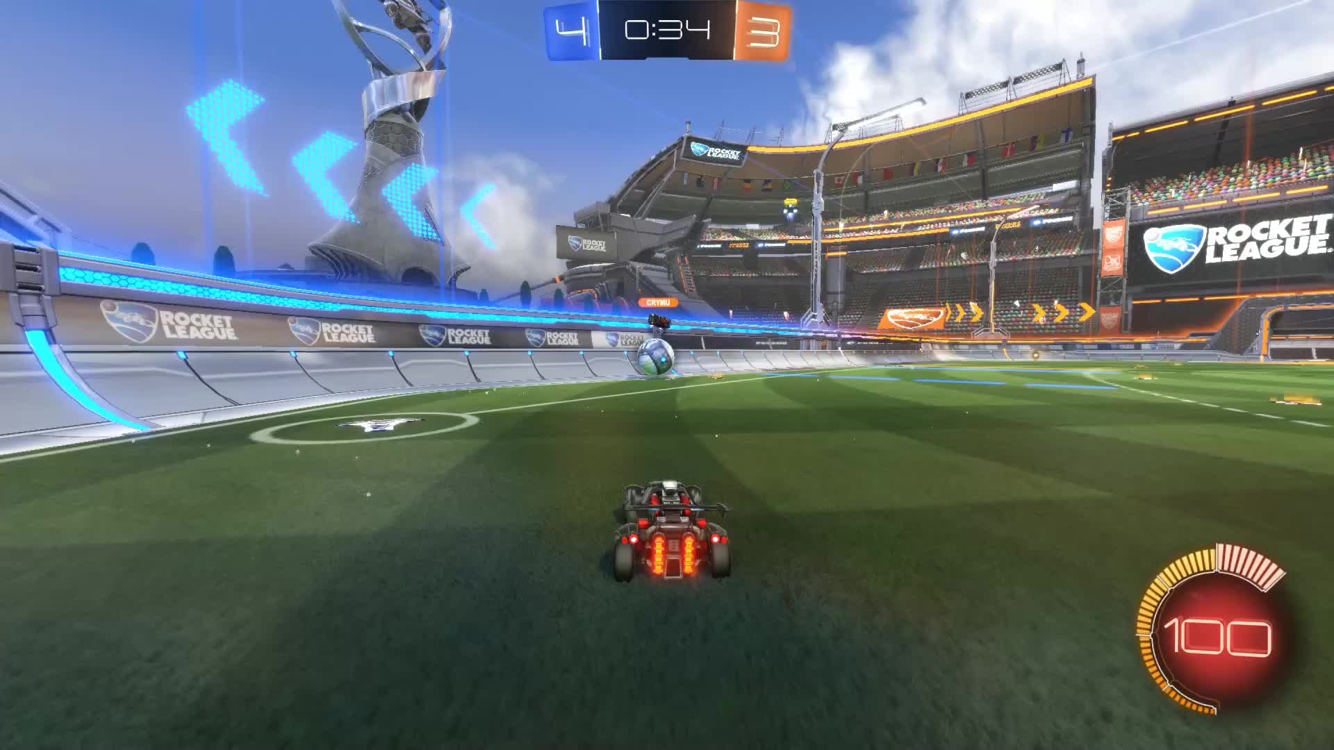 Gif Your Game, GifYourGame, Rocket League, RocketLeague, Save, revise, ⏱️ Save 6: revise GIFs