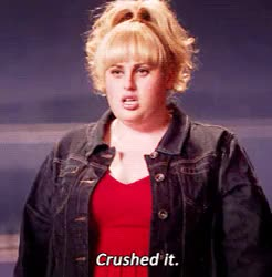 Watch and share Pitch Perfect Crushed It GIFs on Gfycat