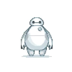 Watch and share 16 Bit Baymax GIFs on Gfycat