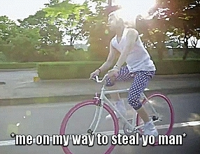 asian, blonde, funny gif, gif is mine, kpop, kpop mv, lee minki, macro, me on my way to steal yo man, minki, not over you, not over you mv, nu'est, nu'est gif, omw, on my way, pink, ren, ren gif,  GIFs