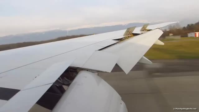 Watch and share ONBOARD SWISS Boeing 777-300ER | FULL FLAPS LANDING At Geneva Airport (GVA) [Full HD] GIFs on Gfycat